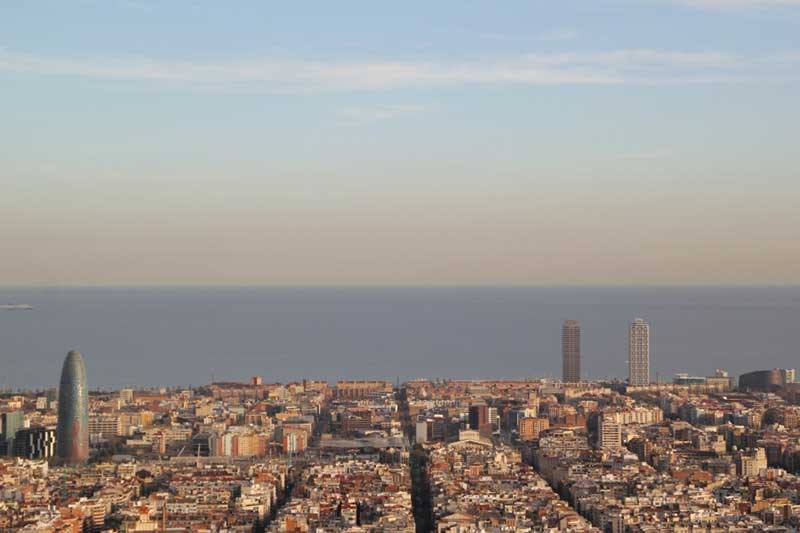 Barcelona's skyline: the biggest buildings of the city